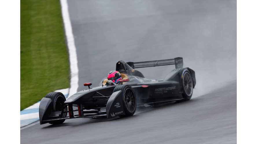 Formula E - Onboard Lap At Donington Park (Video)