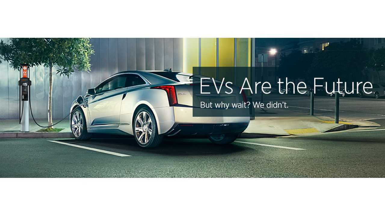 Cadillac ELR connected to ChargePoint