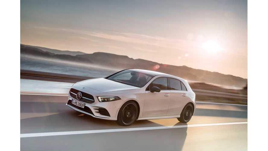 Mercedes-Benz A-Class PHEV Coming Next Year