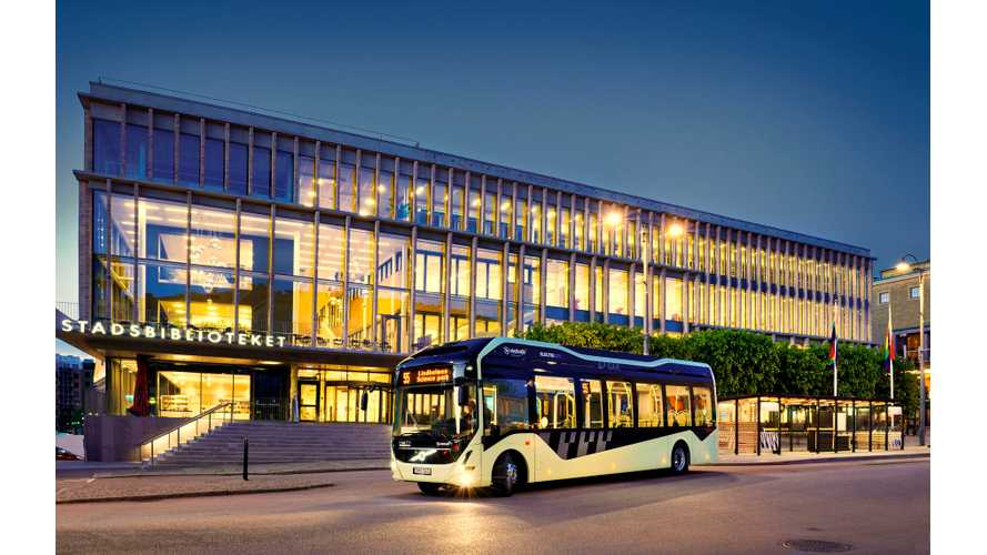 Volvo Electric Bus Route 55 Launched in Gothenburg (w/video)