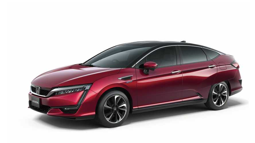 Honda Highlights New Hydrogen Fuel Cell Car