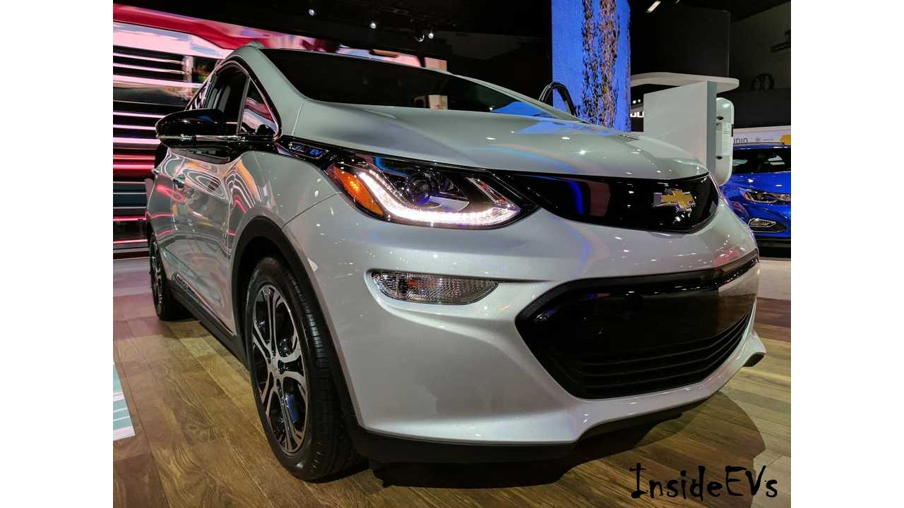 Chevrolet Bolt Adds Green Car of the Year To Its Resume