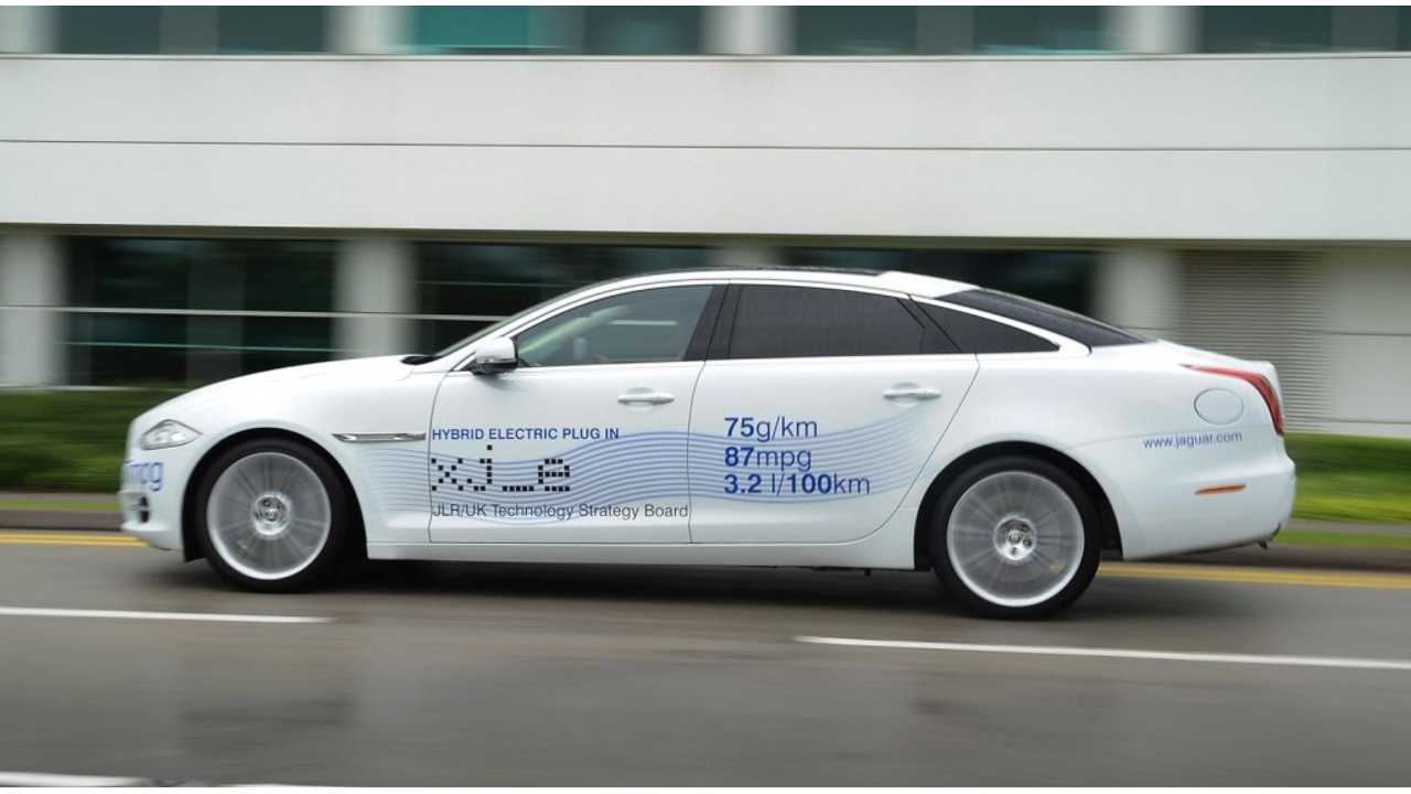 Jaguar XJ_e Extended-Range Electric Concept From Way Back In 2012