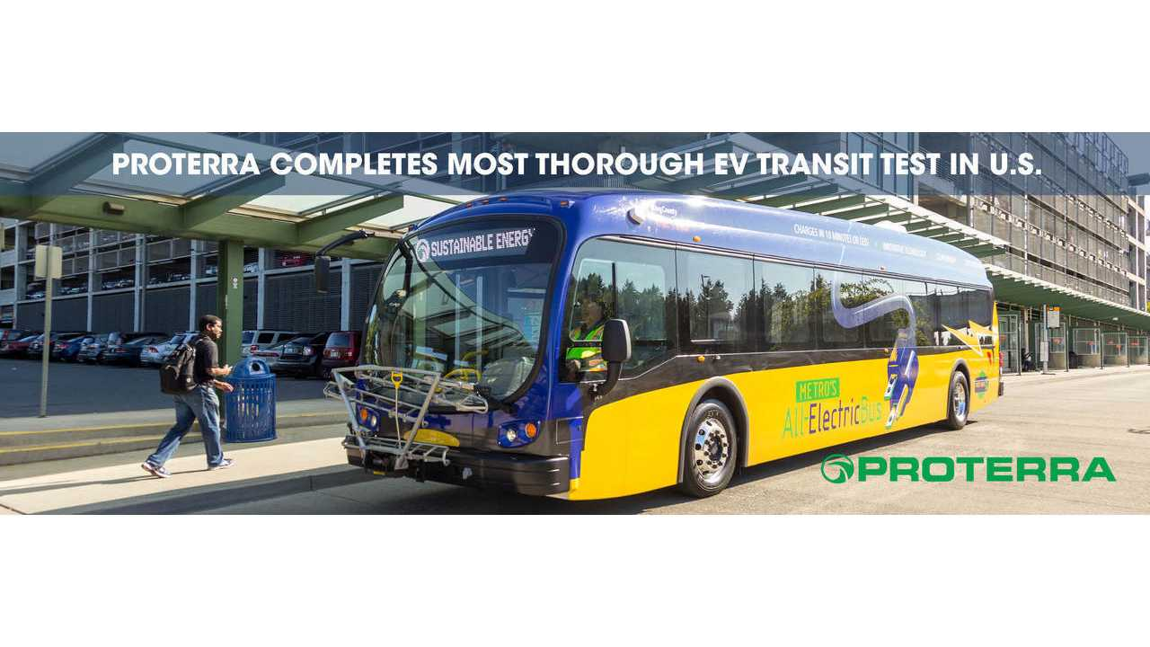 King County Metro's All-Electric Proterra Catalyst FC Bus