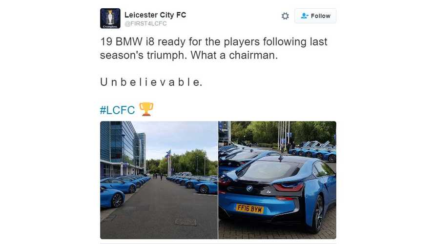 Soccer Team Owner Buys All 19 Players A New BMW i8