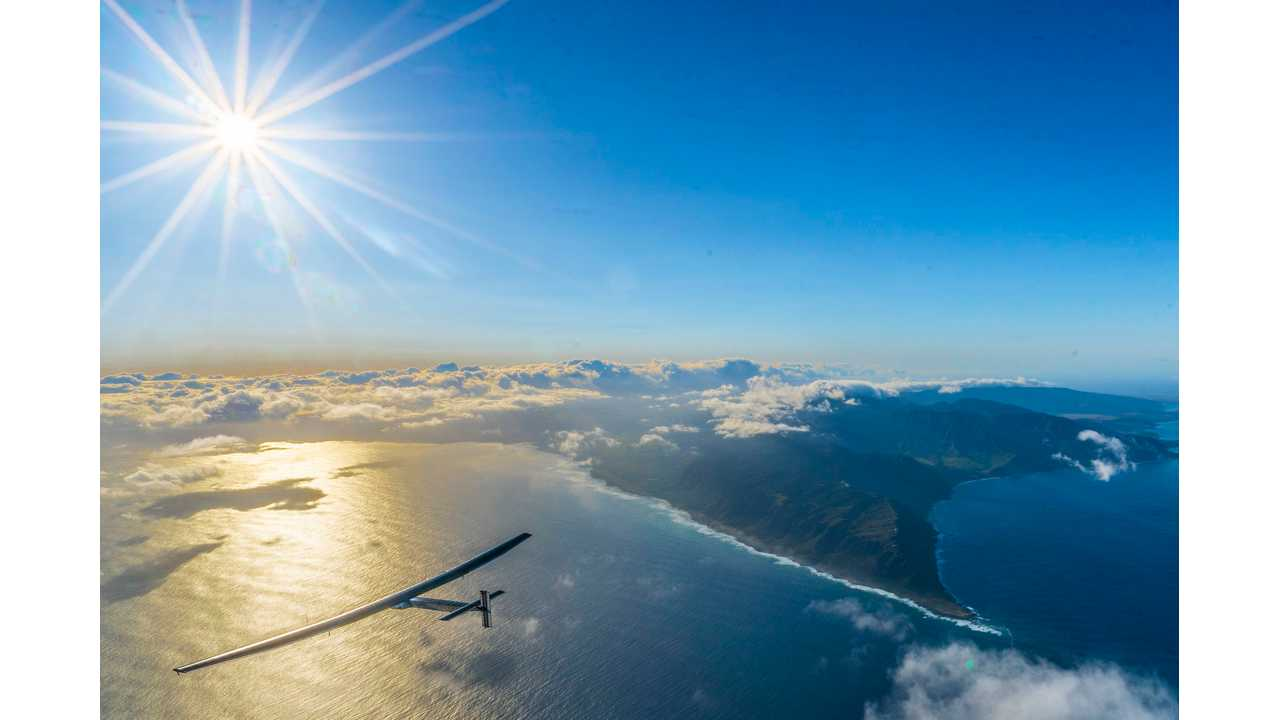 Solar Impulse 2 Resumes Its Journey Around The World (update - arrives in SF) - Video