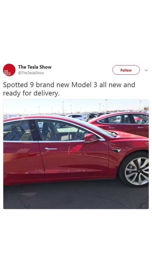 Tesla Model 3 Deliveries Continue - (w/video)