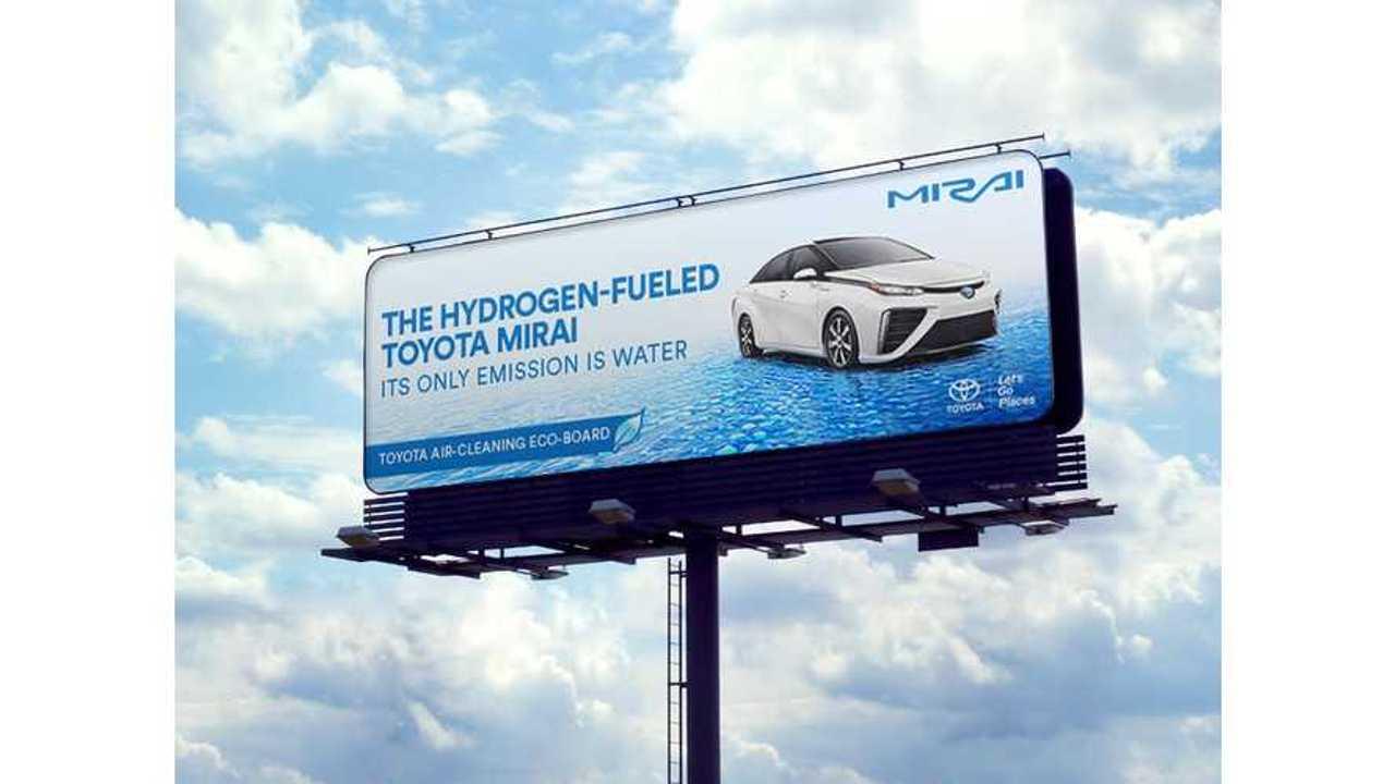 Toyota Mirai Billboards In LA, SF Will Literally Clean The Air