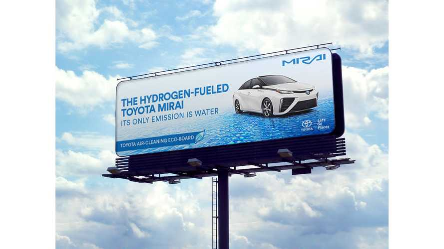 Toyota Mirai Billboards In LA, SF Will Literally Clean The Air