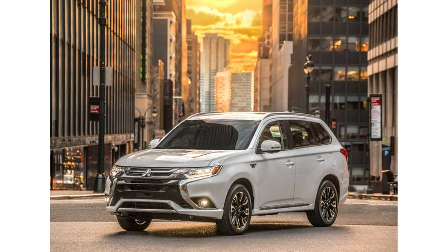 Additional Details On U.S. Version Of Mitsubishi Outlander PHEV