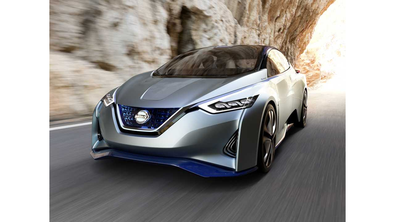Nissan Working On Electric Sports Car & Crossover