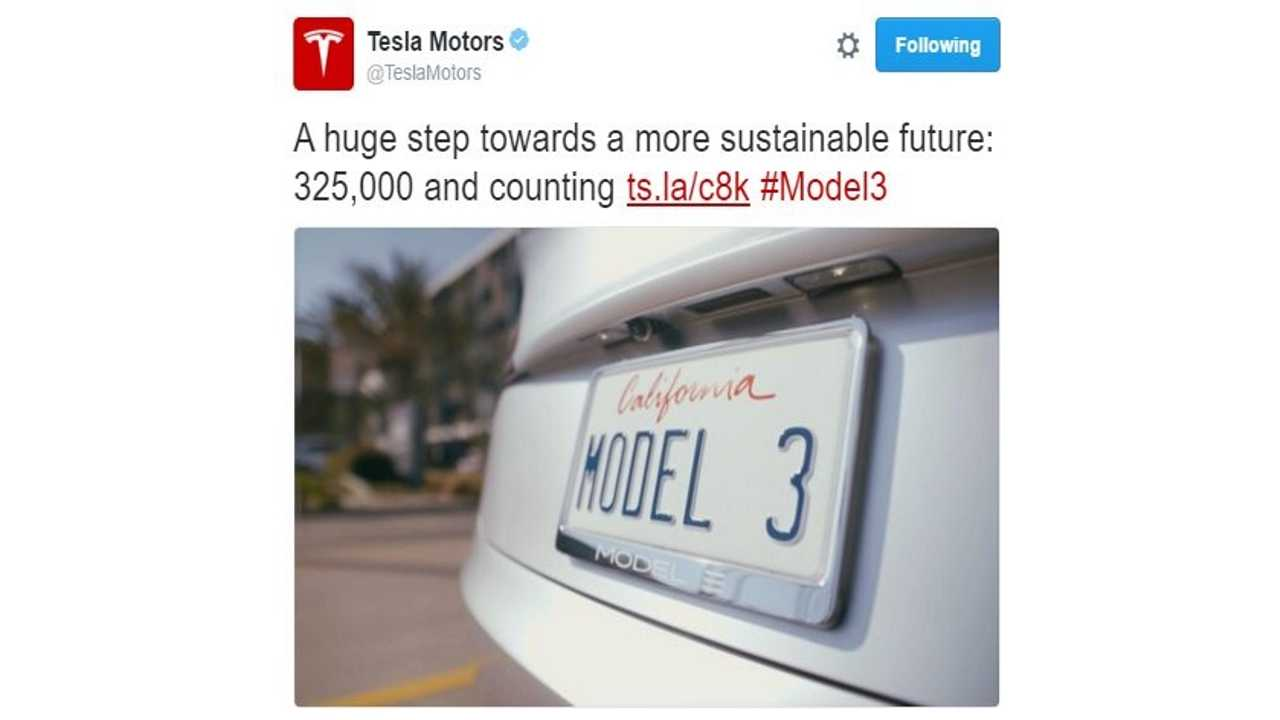 Tesla Model 3 - The Week That Electric Cars Went Mainstream With 325,000 Reservations
