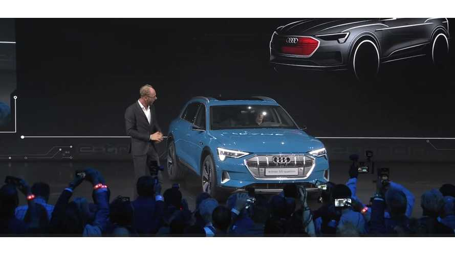 UPDATE VIDEO: Audi e-tron Debuts U.S. Price Undercuts Model X