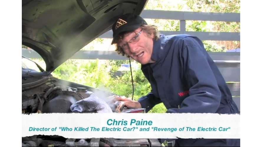 Chris Paine Puts Out Call To Organizers For National Drive Electric Week - Video