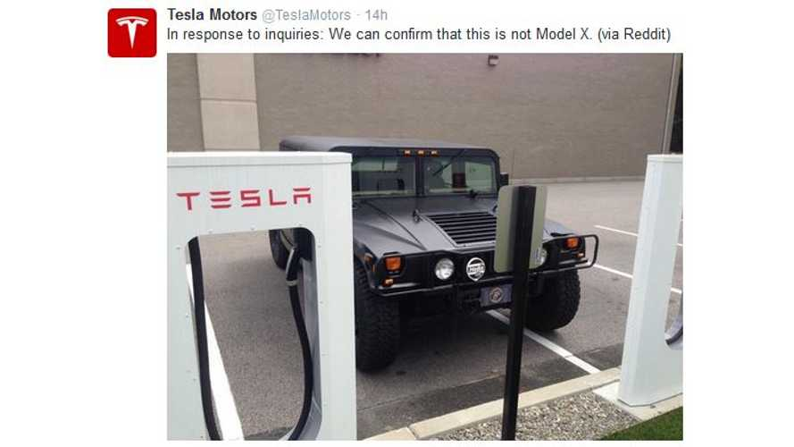 Tesla Confirms - This Is Not The Model X