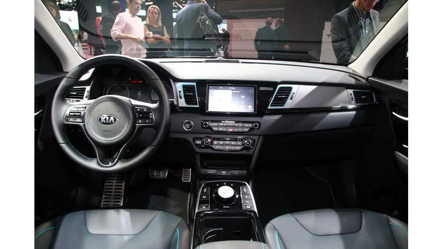 Kia e-Niro Interior Overview: It's More Spacious Than Kona: Video
