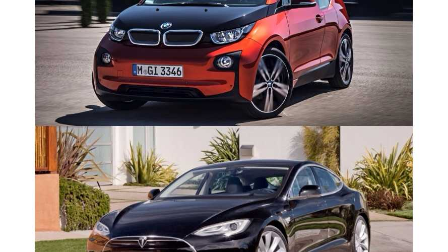 Regenerative Braking: BMW i3 Versus Tesla Model S 70D