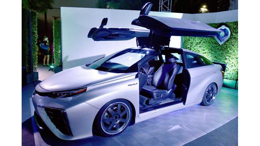 Toyota Mirai Now On Sale In California - Gullwing Mirai Concept Debuts