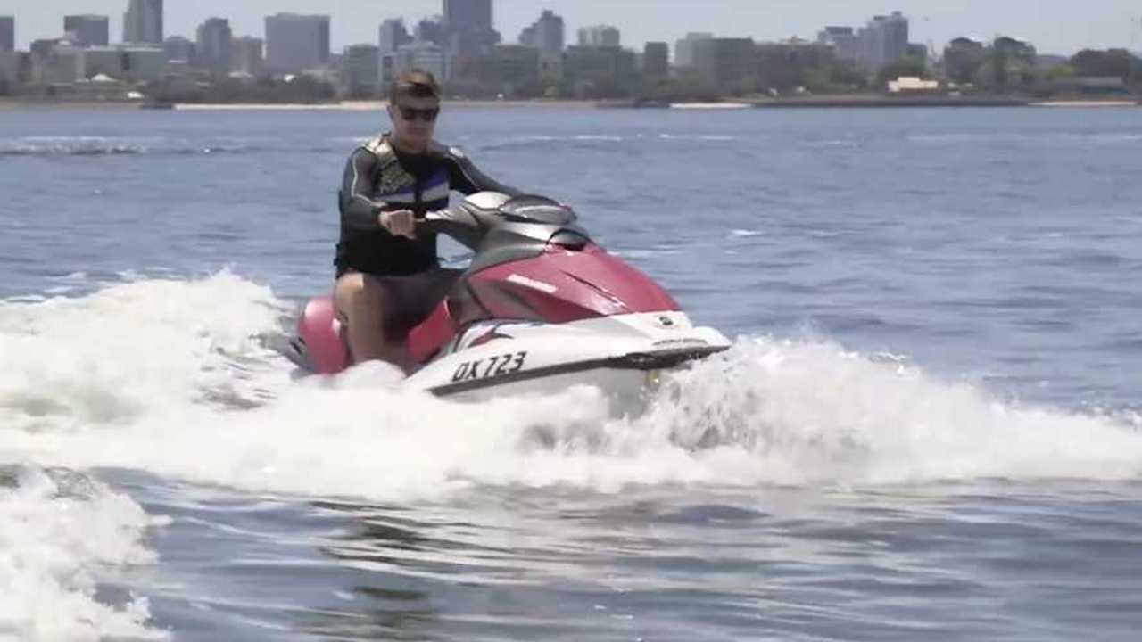 UWA Floats Electric Jet Ski