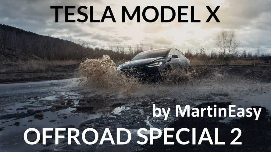 Watch Tesla Model X Handle Some Real Off-Roading: Videos