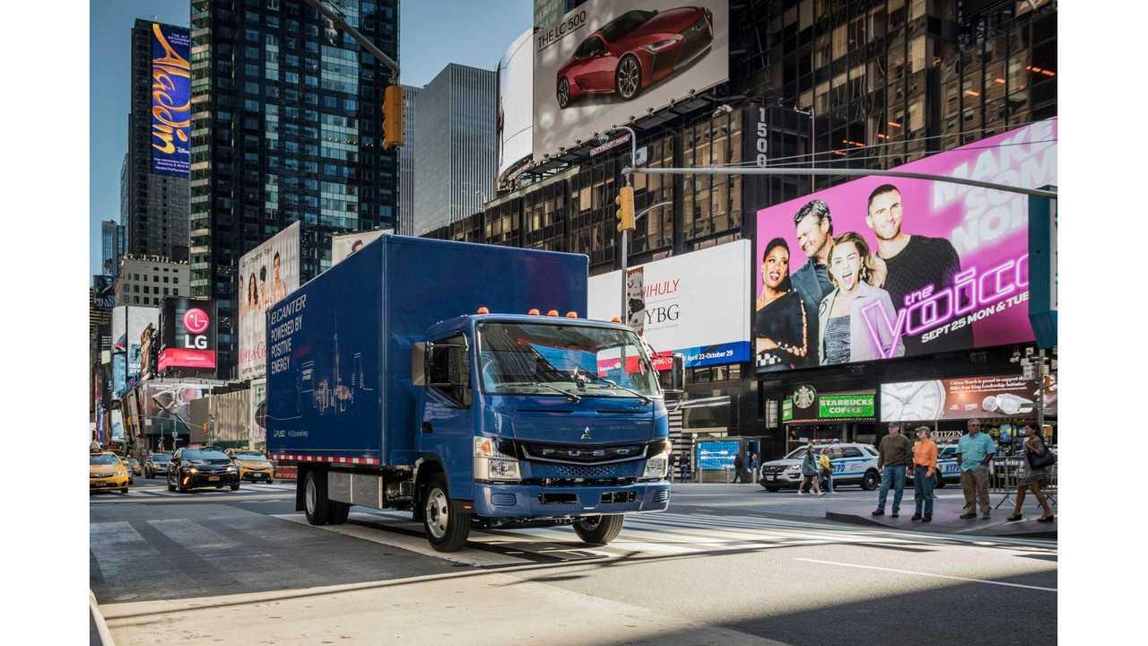 Penske Tests Fuso eCanter Electric Truck In California