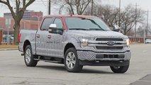 Ford F-150 EV: Pick-up mit Elektroantrieb als Erlkönig erwischt