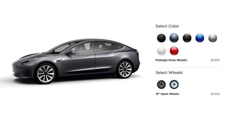 Tesla Addresses Paint Shop Bottleneck By Ditching Two Color Options