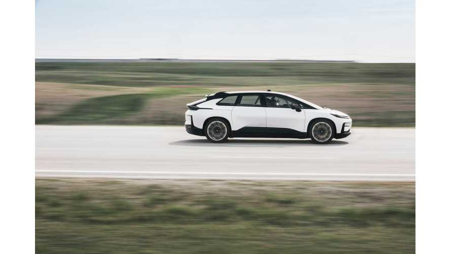 Watch Faraday Future FF91 Conduct High Speed Tests