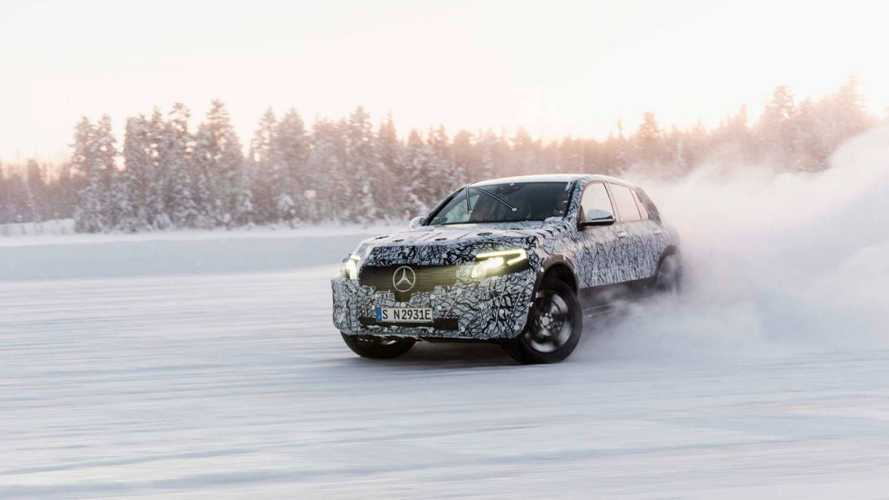 UPDATE: Mercedes EQC Electric Crossover Spy Video