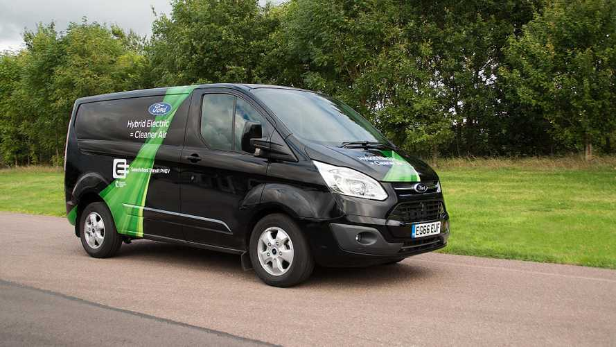Ford Range-Extended Transit Van Gets Revealed: 30+ Miles/50 km range
