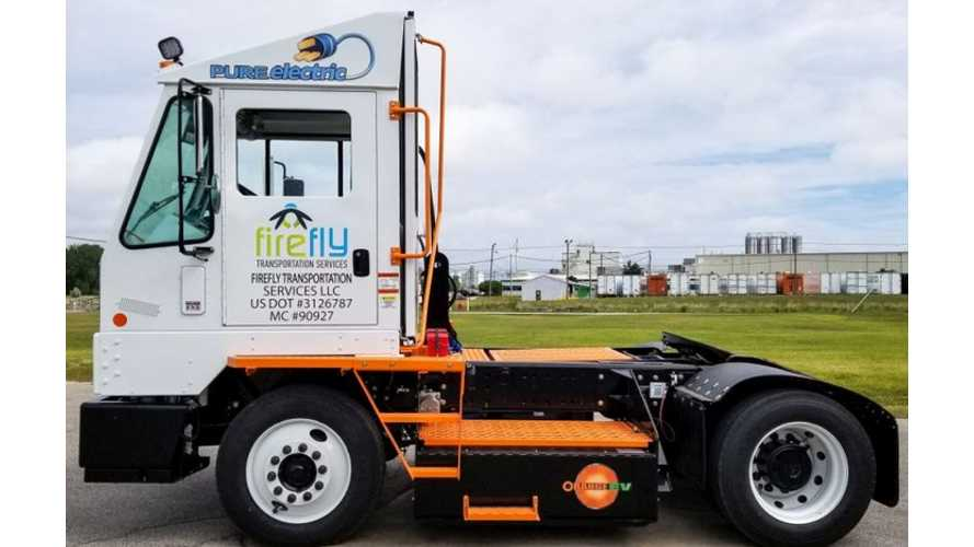 Michigan Gets Its First Class 8 Electric Truck