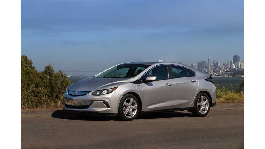 2019 Chevrolet Volt Slight Price Increase: Premier Gets 7.2 kW Charger