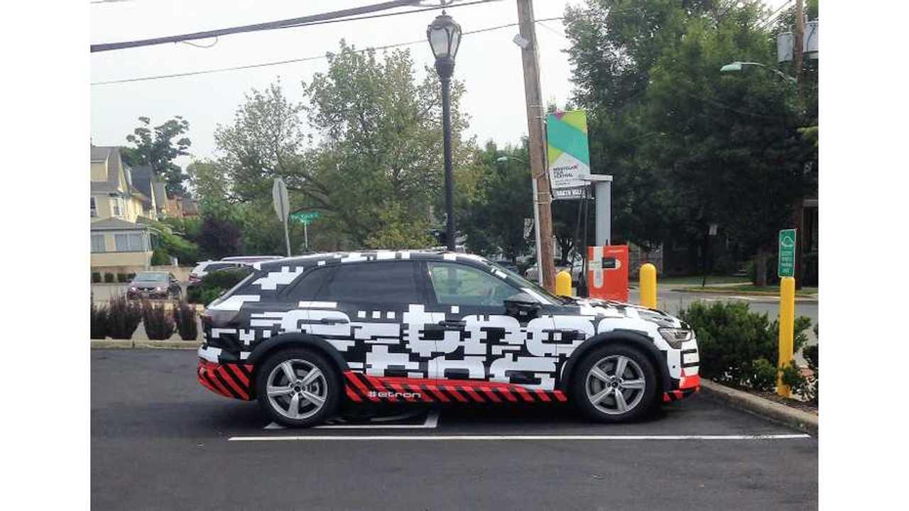 Audi E-Tron Quattro Caught Testing in New Jersey