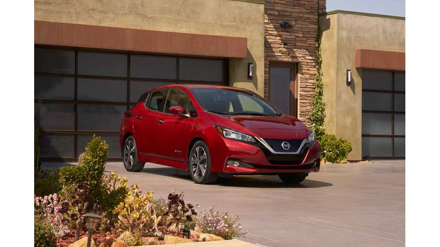 Nissan LEAF Among 2018 World Car of the Year Finalists
