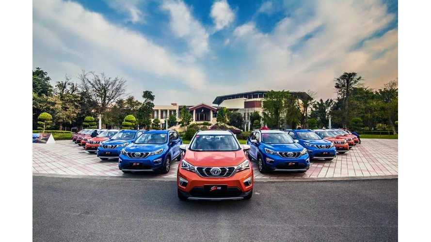 China's Changan Auto To Stop Selling Gas Cars By 2025