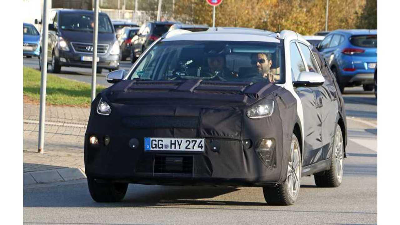 Kia Niro Electric Spy Shots Surface