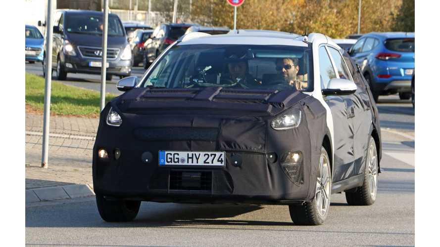 Kia Niro Electric Spy Shots Surface