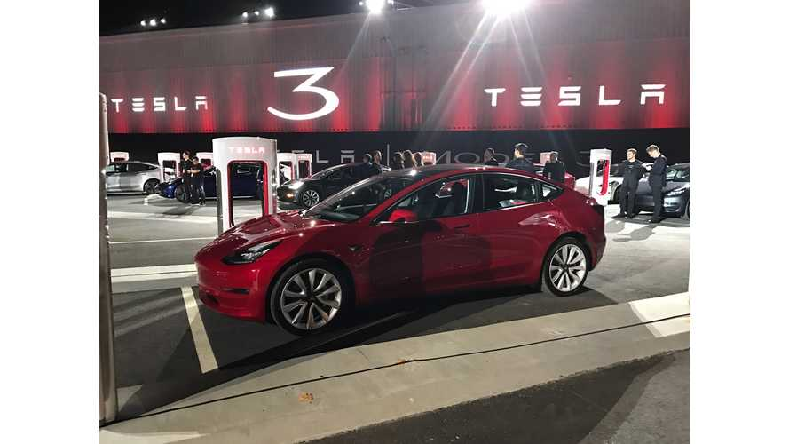 Tesla Model 3 Production Could Be 1,600 Per Week, But Probably Not