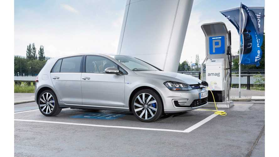 Volkswagen Leads Plug-In Electric Car Sales In Europe