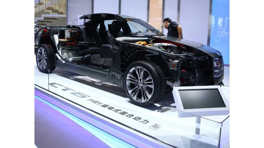 Live Images: Cadillac CT6 PHEV From Shanghai Debut