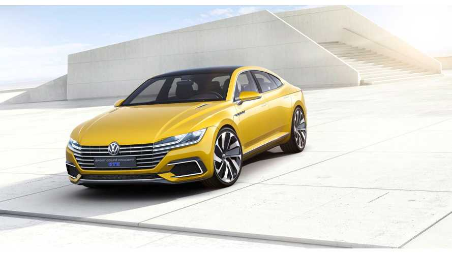 Volkswagen Sport Coupe Concept GTE In Detail