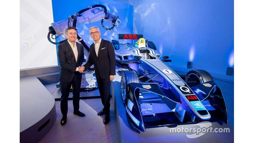 Formula E Announces ABB As Title Sponsor - Racing Series Now Called ABB FIA Formula E Championship