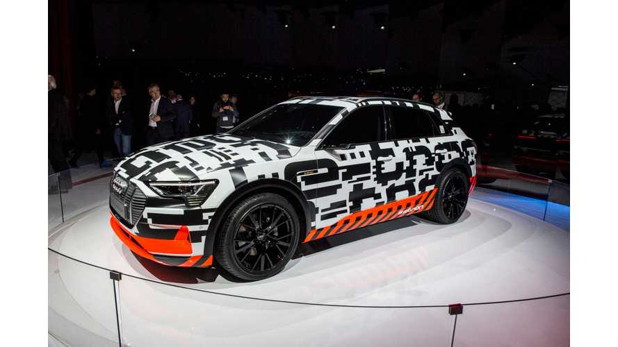 Audi e-tron Prototype Appears In Geneva