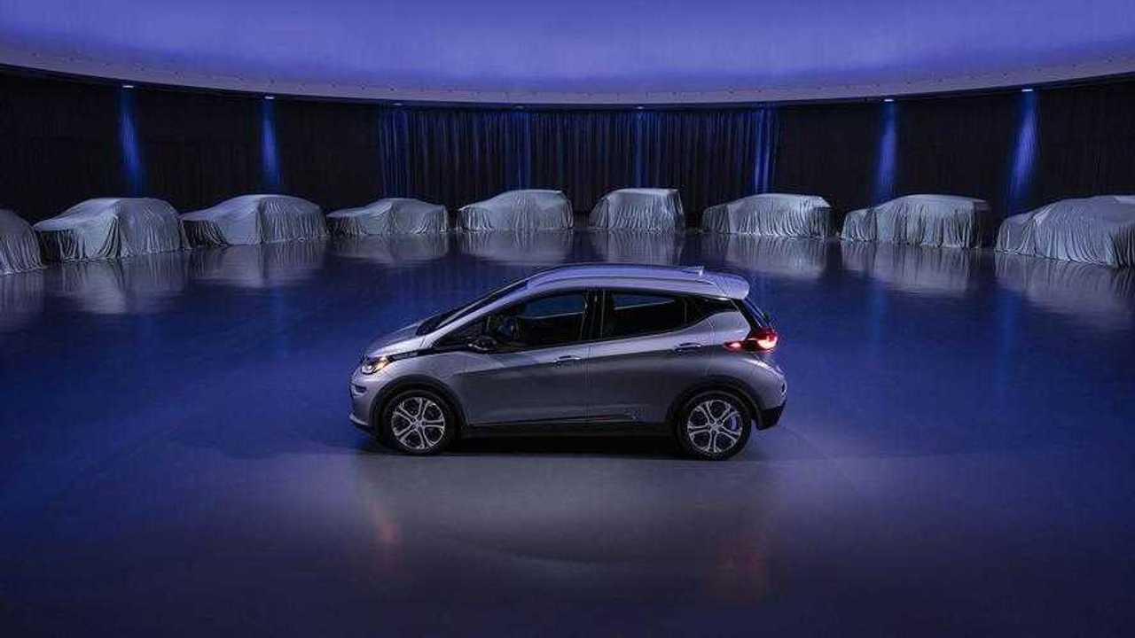 General Motors' EV Teaser Reveals Low-Slung, Sporty Coupe