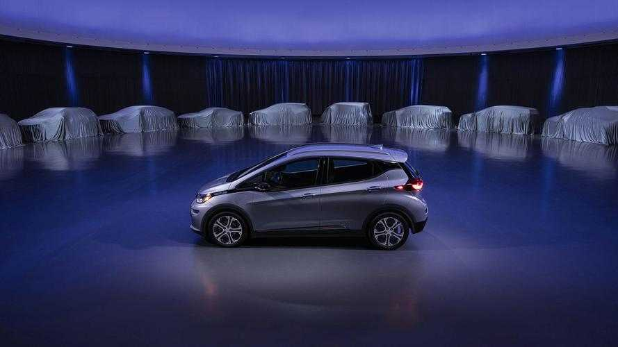 General Motors' EV Teaser Reveals Low-Slung, Sporty Coupe