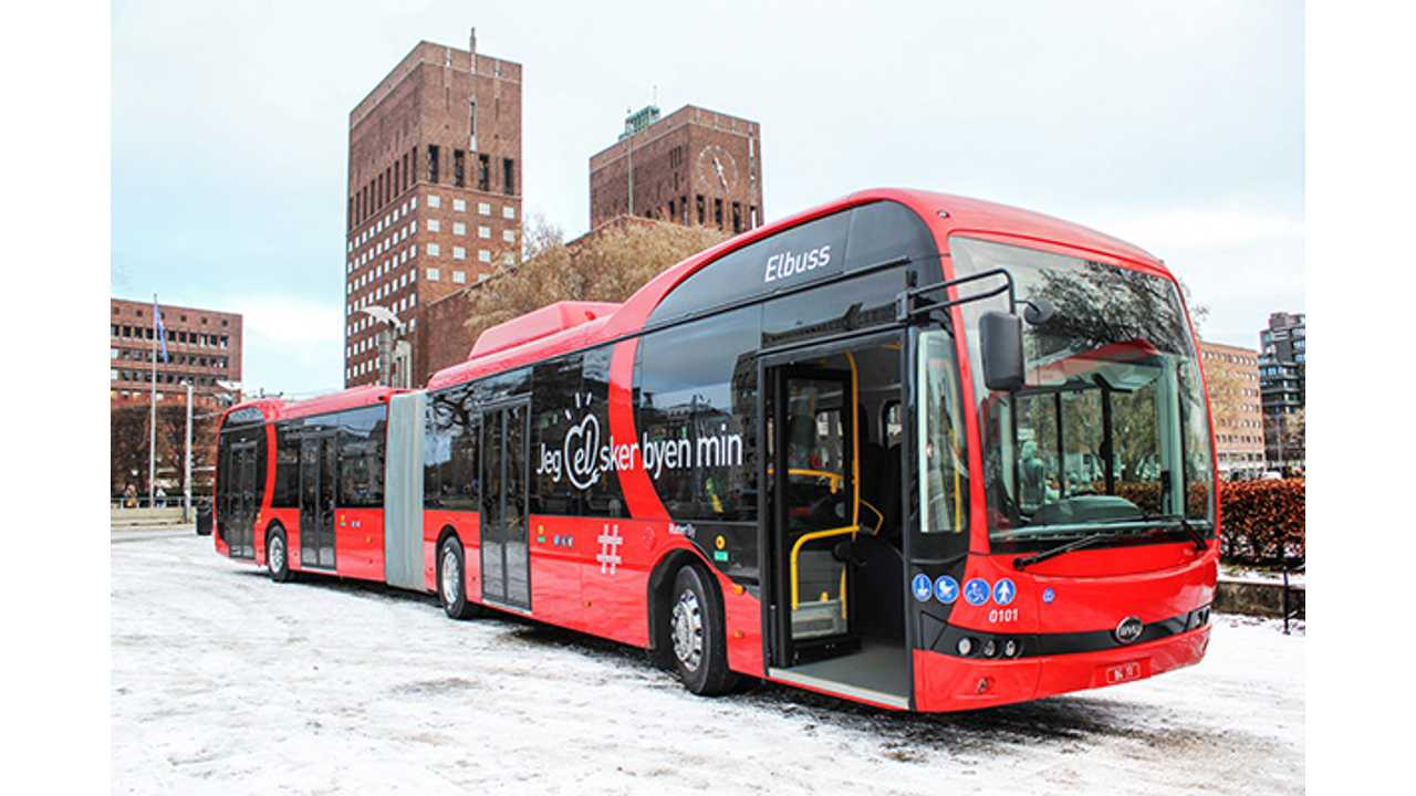 BYD Begins Deliveries of 18 Meter Articulated Electric Buses