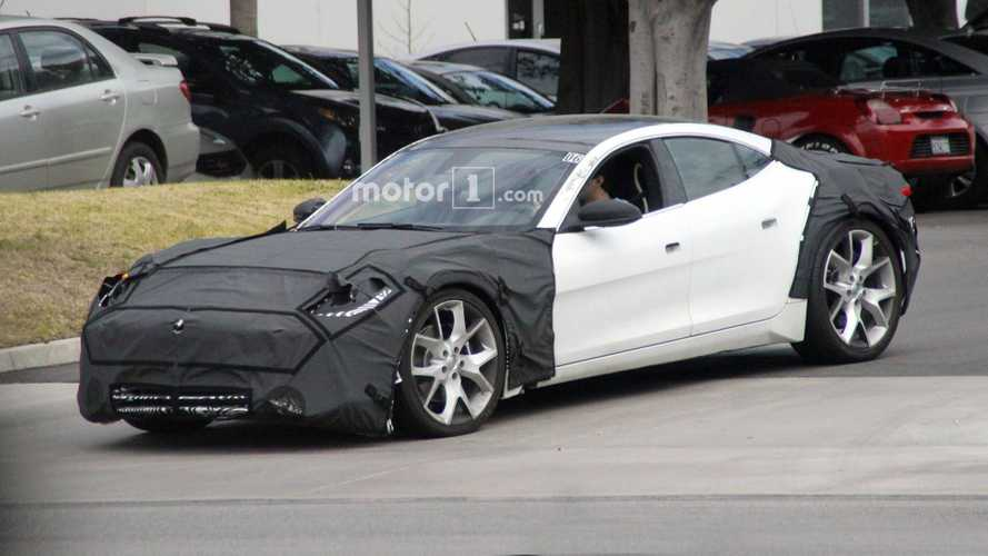 Karma Revero Spied Hiding New Front & Rear End