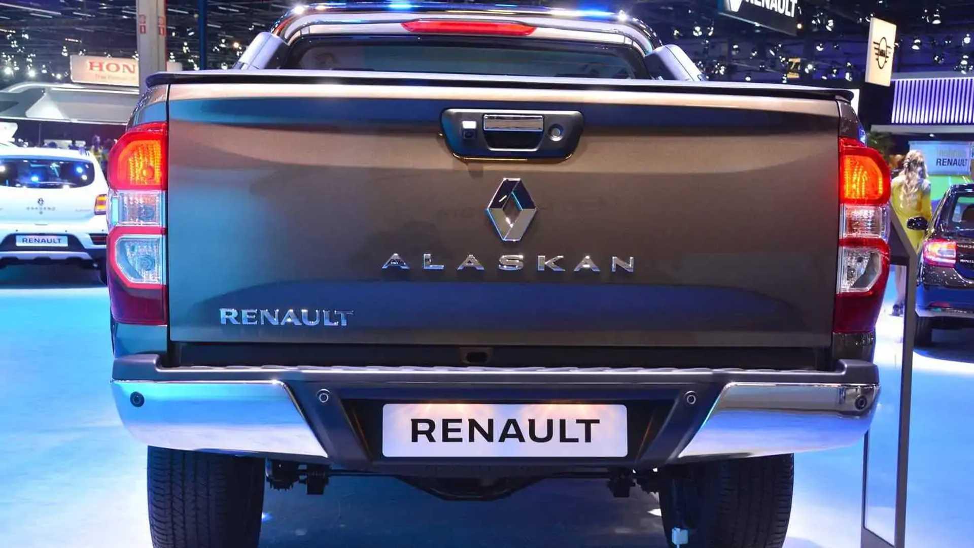 Salão de SP: Renault Alaskan aparece, mas sem compromisso Renault-alaskan