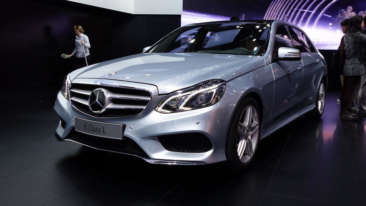 Mercedes-Benz E-Class L at 2013 Auto Shanghai