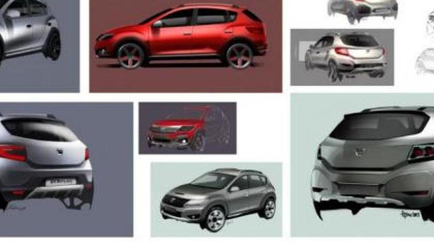 Dacia shows initial sketches for new Logan, Sandero, Sandero Stepway